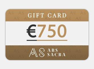 GIFT CARD 750 EUR