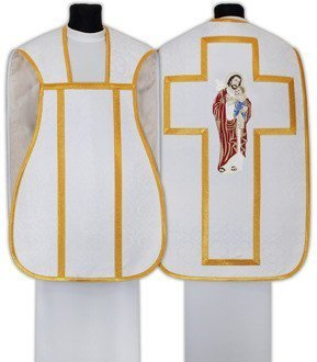 "Roman chasuble ""Saint Joseph"" RH658-B25"