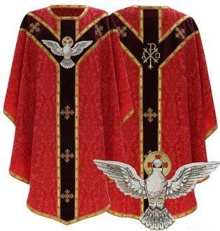 """Semi Gothic Chasuble """"Holy Spirit"""" GY809-AC26"""