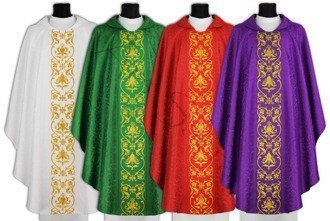 Set of 4 chasubles SET-674