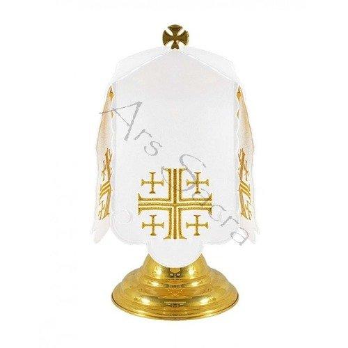"Ciborium veil ""Jerusalem Crosses"" SP-09"