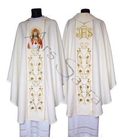"""Gothic Chasuble """"Christ the King"""" 543-K"""