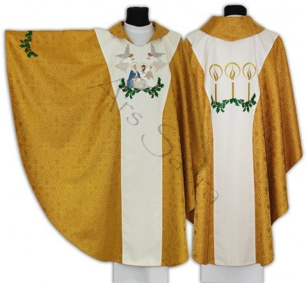 "Gothic Chasuble ""Christmas"" 643-G16"