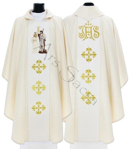"""Gothic Chasuble """"John the Baptist"""" 409-GK54"""