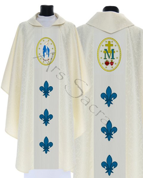 "Gothic Chasuble ""Our Lady of Grace"" 426-K25"