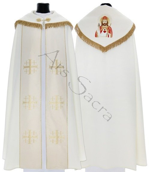 "Gothic Cope ""Christ the King"" K009-Kh5f"