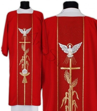 "Gothic Dalmatic ""Holy Spirit"" D007-C"