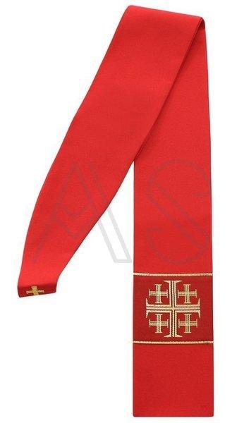 """Gothic stole """"Jerusalem Crosses"""" SZ1-C"""