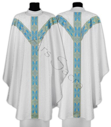 Marian Semi Gothic Chasuble GY201-BN25