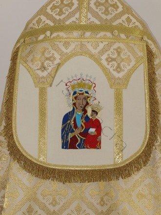 "Roman cope ""Black Madonna of Czestochowa"" KR6-AK50"
