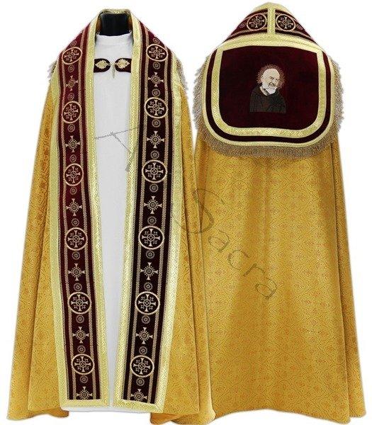 """Roman cope """"Saint Padre Pio"""" KT579-AF25h29"""