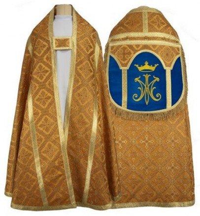 Chape romaine mariale KR2-AGN50