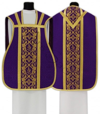 Chasuble romaine R012-F25