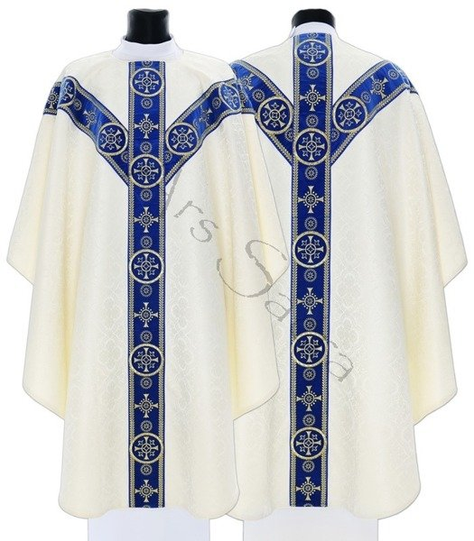 Chasuble semi-gothique GY579-AKN25