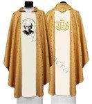 """Chasuble gothique """"St. Vincent Pallotti"""" 720-G16"""