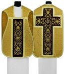 Chasuble romaine R518-AGC16