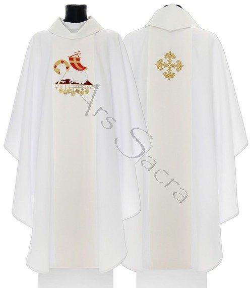 """Casulla gótica """"Cordero de Dios"""" 601-ABg"""