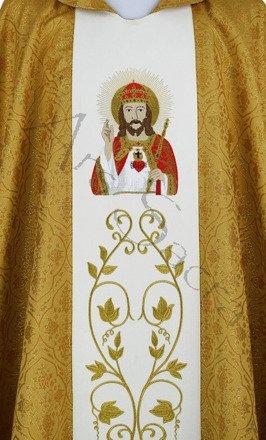 "Casulla gótica ""Cristo Rey"" 543-G16"