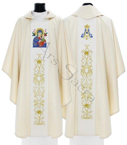 """Casulla mariana """"Nuestra Señora del Perpetuo Socorro"""" 408-GK54"""