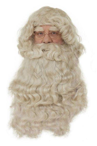 Peluca con una barba para Papá Noel PER2